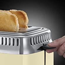 Retro Vintage Cream Toaster