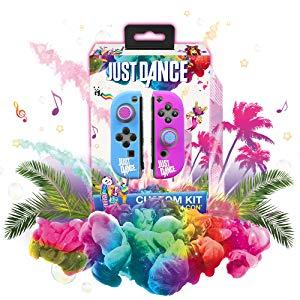 silicone grip soft case joycon nintendo switch controller protective just dance 19 game accessory
