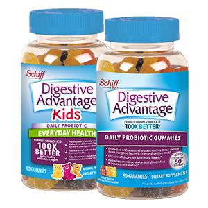 Try Digestive Advantage Probiotic Gummies for a sweet way to get your probiotics, natural flavors