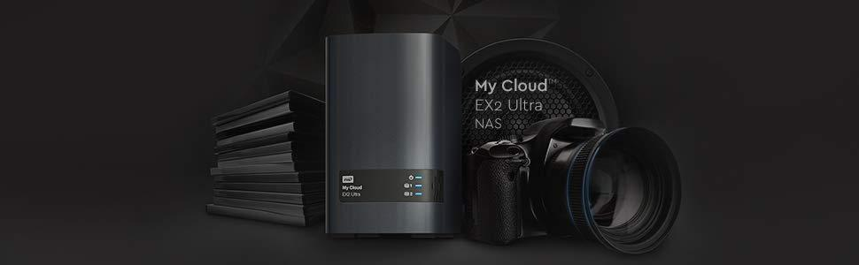 My Cloud EX2 Ultra, WD, western digital, nas, network attached storage