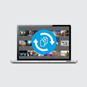 Datensicherheit der neuesten Generation mit WD SmartWare. Zugriff auf Apple Time Machine