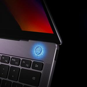 The power button can also detect your fingerprint to let you quickly and safely access the desktop