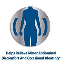 Helps Relieve Minor Abdominal Discomfort And Occasional Bloating*
