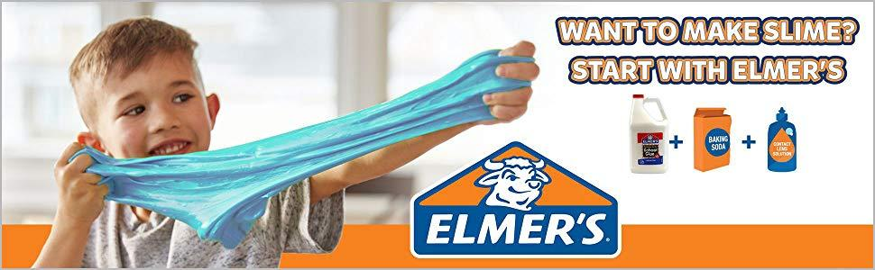 banner image showing child holding slime