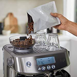 built in grinder bean to cup coffee