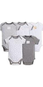 Burt's Bees Baby Sleep & Play Sleeper Pjs Pajamas Organic Cotton Clothing Girls Boys Unisex Newborn