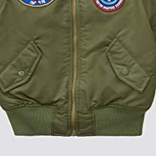 Alpha Industries Youth Ma-1 with patches