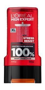 shower gel, body wash, shower for men, stress resist