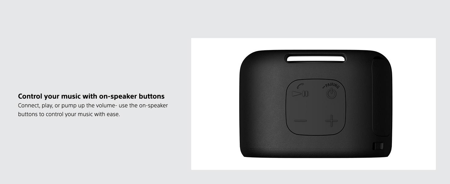 On-speaker Buttons