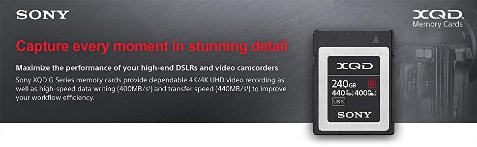 Sony XQD A+ Header Image