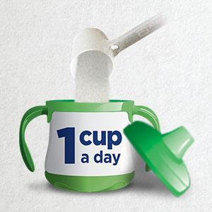 1 cup a day