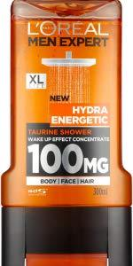 L'Oreal Men Expert, Hydra Energetic, Taurine, Shower Gel, Wake Up, Boost