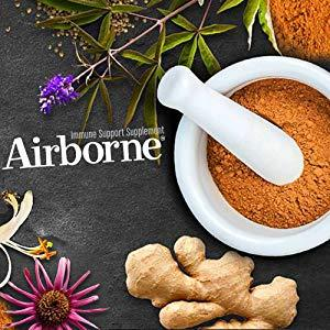 photo of natural herbs and minerals used in Airborne Immune Support Supplement