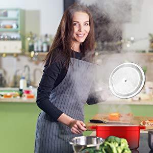 Enameled Cast Iron Dutch Oven;5-Quart Kitchen ;Round Dutch Oven;Stovetop Casserole;CookwareBraising;