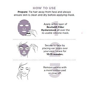 hyaluronic acid revitalift loreal paris mask