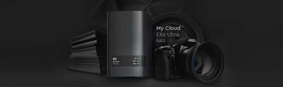 My Cloud EX2 Ultra NAS