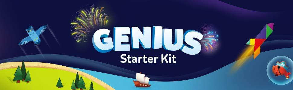 Osmo Genius Starter Kit - for iPad - 5 Hands-on Games