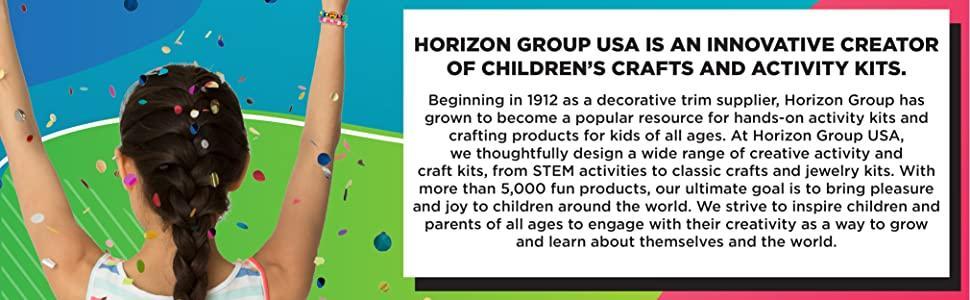 horizon group usa, creativity, arts and crafts, crafts, art, activity kits, stem, steam, create