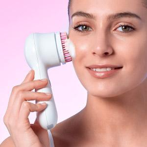 clarisonic sonic facial cleansing brush head replacement radiance skin oily acne dry cleanser