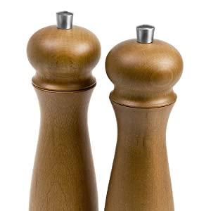 Jamie Oliver salt and pepper mill gift set, wooden