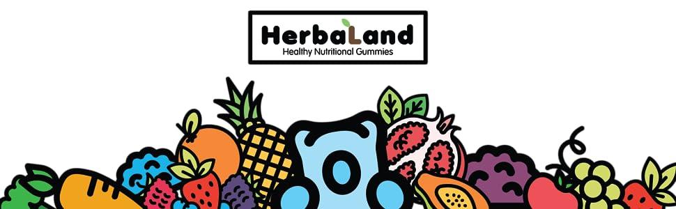 Herbaland Healthy Nutritional Gummies Canada Canadian