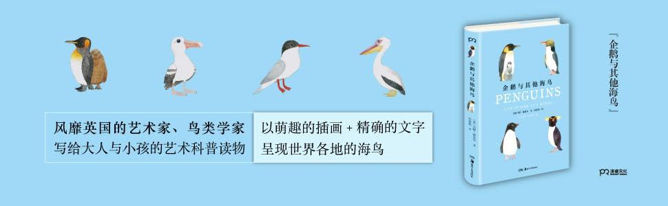 企鵝 海鳥 大人與小孩的藝術科普讀書