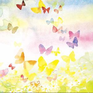 暖色调的画面,表现了她沉浸在想象中的愉悦心情.
